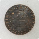 US 1776 Continental Curency Commemorative Copy Coin  For Collection