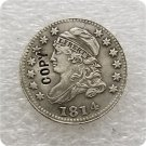 US 1814 Capped Bust Dime 10 Cents Copy Coin  For Collection