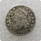 US 1822 Capped Bust Dime 10 Cents Copy Coin  For Collection