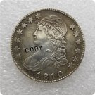 US 1810 Capped Bust Half Dollar 50 Cents 1/2 Dollar Copy Coin  For Collection