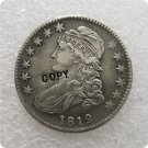 US 1812 Capped Bust Half Dollar 50 Cents 1/2 Dollar Copy Coin  For Collection