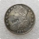 US 1814 Capped Bust Half Dollar 50 Cents 1/2 Dollar Copy Coin  For Collection