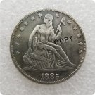 US 1885 Seated Liberty Half Dollar Copy Coin  For Collection