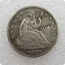 US 1889 Seated Liberty Half Dollar Copy Coin  For Collection