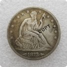 US 1873-S Arrows Seated Liberty Half Dollar Copy Coin  For Collection
