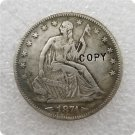 US 1874-S Arrows Seated Liberty Half Dollar Copy Coin  For Collection