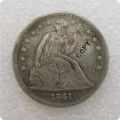 US 1841 Seated Liberty One Dollar Copy Coin  For Collection