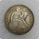 US 1847 Seated Liberty One Dollar Copy Coin  For Collection