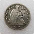US 1855 Seated Liberty One Dollar Copy Coin  For Collection