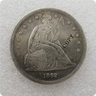 US 1862 Seated Liberty One Dollar Copy Coin  For Collection