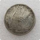 US 1863 Seated Liberty One Dollar Copy Coin  For Collection