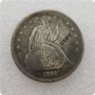 US 1865 Seated Liberty One Dollar Copy Coin  For Collection