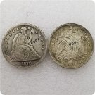US 1870-S Seated Liberty One Dollar Copy Coin  For Collection