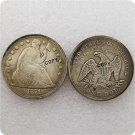 US 1871-CC Seated Liberty One Dollar Copy Coin  For Collection