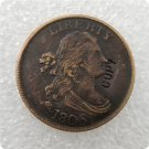 US 1806 Draped Bust Half Cent Copy Coin  For Collection