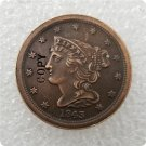 US 1843 Braided Hair Half Cent Copy Coin  For Collection