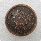 US 1845 Braided Hair Half Cent Copy Coin  For Collection