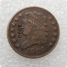 US 1809 Classic Head Half Cent Copy Coin  For Collection