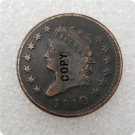 US 1810 Classic Head Large One Cent Copy Coin  For Collection