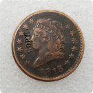 US 1813 Classic Head Large One Cent Copy Coin  For Collection