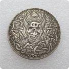 Skull Head CC Morgan Dollar Hobo Nickle Copy Coin For Collection