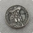 US 1936-D Buffalo Nickel Queen Hobo Nickle Copy Coin For Collection
