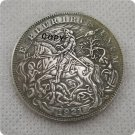 US 1921-P Morgan Dollar Knight Hobo Nickle Copy Coin For Collection