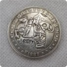 US 1888-S Morgan Dollar Skull Zombie Skeleton And Horse Hobo Nickle Copy Coin For Collection