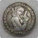 US 1881-CC Morgan Dollar Sexy Belle Hobo Nickle Copy Coin For Collection