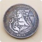 US 1896-CC Morgan Dollar Hobo Nickle Copy Coin For Collection