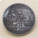 US 1935-P Peace Dollar Hobo Nickle Copy Coin For Collection