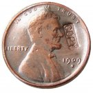 US 1909-S Lincoln Head One Cent 100% Copper Copy Coin