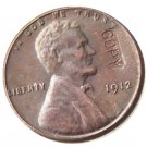US 1912 Lincoln Head One Cent 100% Copper Copy Coin
