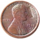 US 1916-D Lincoln Head One Cent 100% Copper Copy Coin
