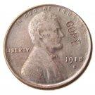 US 1918-S Lincoln Head One Cent 100% Copper Copy Coin