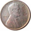 US 1919 Lincoln Head One Cent 100% Copper Copy Coin