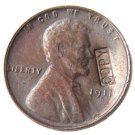 US 1911-D Lincoln Head One Cent 100% Copper Copy Coin