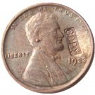 US 1923 Lincoln Head One Cent 100% Copper Copy Coin