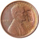 US 1923-D Lincoln Head One Cent 100% Copper Copy Coin