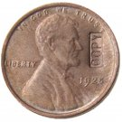US 1925 Lincoln Head One Cent 100% Copper Copy Coin