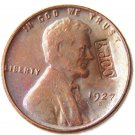 US 1927-D Lincoln Head One Cent 100% Copper Copy Coin