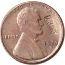 US 1928-D Lincoln Head One Cent 100% Copper Copy Coin