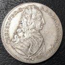 1731 Denmark 4 Mark Dansk Silver Copy Coin