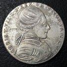 1771 Denmark 1 Krone-Christian VII Silver Plated Copy Coin