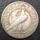 1908-D Germany 25 Pfennig Silver Plated Copy Sample Coin