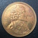 1824 Original 1st ISSUE French Medal of Albrecht von Wallenstein by Wolff Durand Copy Coin