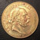 1907 Hungary 100 Korona - I. Ferenc József Copy Coin