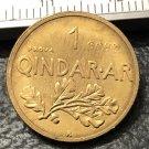 1935 Albania 1 Qindar Ar-Zog Bronze pattern Copy Coin