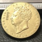 1828 United Kingdom 1 Sovereign Copy Gold Coin