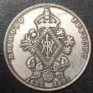 England - 1897 Diamond Jubilee medal Gem Coin